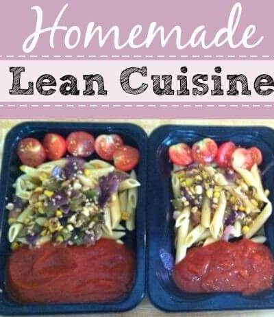 Homemade Lean Cuisines Recipe