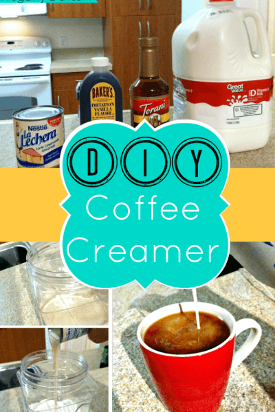 Make your own homemade coffee creamer in under 2 minutes. Easy to make and customize!