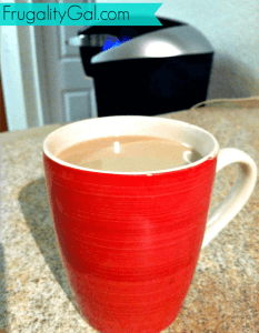 Homemade Coffee Creamer. Shows you adjustments to make just vanilla coffee creamer and caramel creamer as well.
