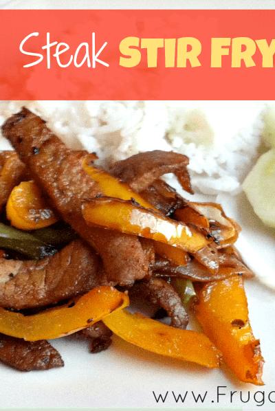 Easy Pepper Steak Stir Fry Recipe
