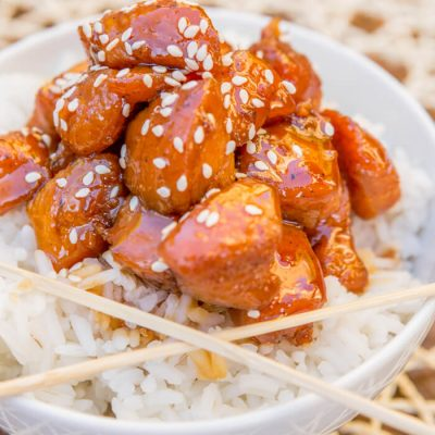 Honey Teriyaki Chicken Recipe {WW 7 points}