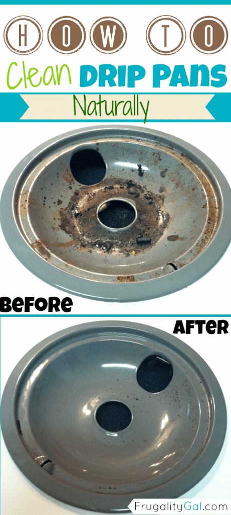 How To Clean Electric Stove Drip Pans Burners Easily Naturally