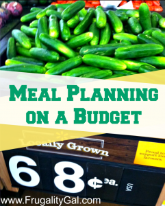 Using reverse meal planning to slash your grocery bill. Reverse meal planning is the easiest and quickest way to get started in menu planning. HUGE post - over 1,000 words! Great tips.