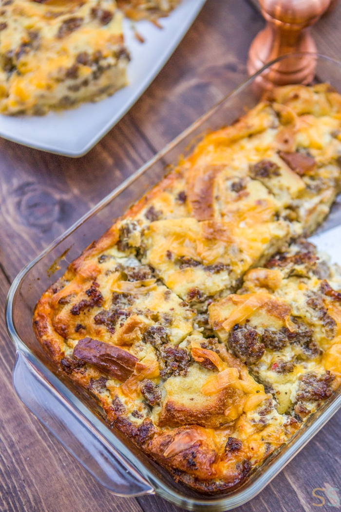 Sausage Breakfast Casserole Recipe - Savor + Savvy