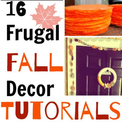 16 Frugal Fall Decor Ideas