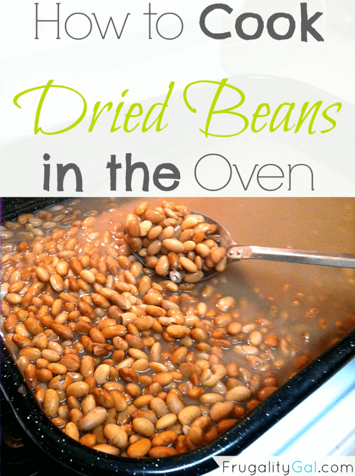 How to cook dried beans in the oven. An easy way to cook dried beans without much effort. | www.savorandsavvy.com