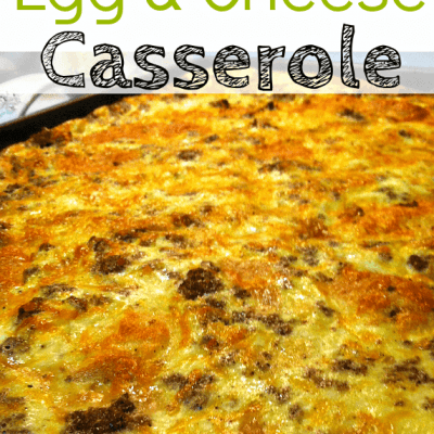 Easy Breakfast Casserole: Sausage Egg and Cheese Casserole Recipe