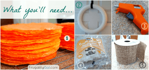 Tutorial on making a dyed coffee filter wreath. Easy and inexpensive project that gives a lot of bang for your buck! Via www.savorandsavvy.com