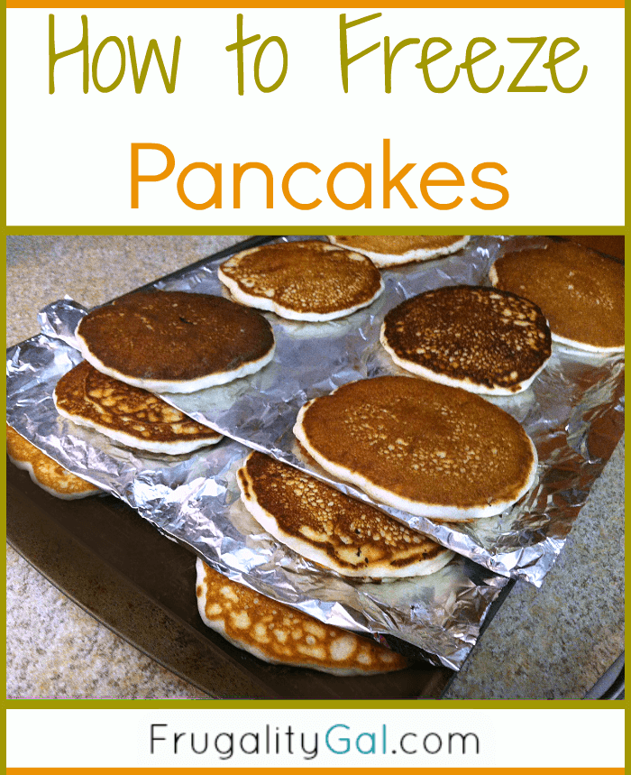how to make panacakes for 1