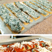 How to Make Freezer Friendly Spinach Lasagna Rolls Recipe {WW7 Green, 6 Blue/Purple Points, Vegetarian}