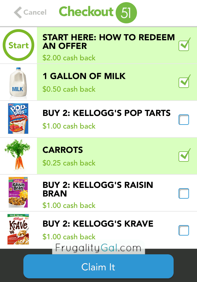 Earn Cash-Back on Groceries you're already Buying! | www.savorandsavvy.com