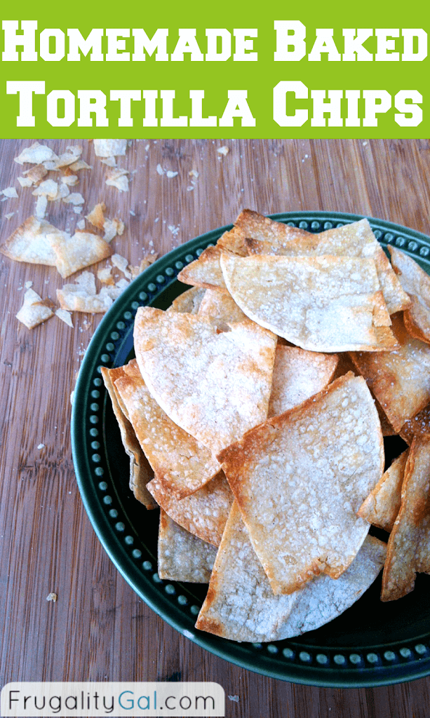 Homemade baked tortilla chips recipe for What can i make with tortilla chips