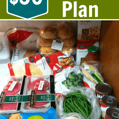 My $50 Menu Plan and 6 Ways I Kept My Costs Down