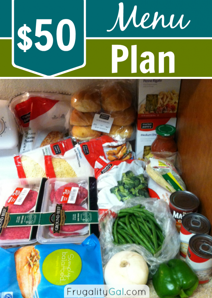 My $50 Meal Plan and 6 Ways I kept costs down.