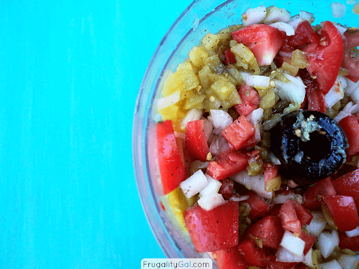 Fresh homemade salsa recipe. Mild, fresh, tangy and delicious.