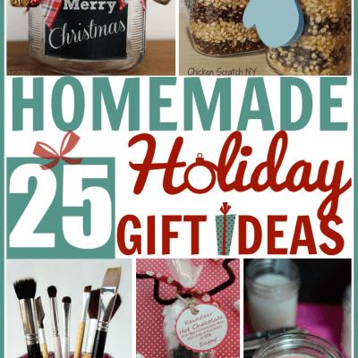 25 Homemade Holiday Gift Ideas