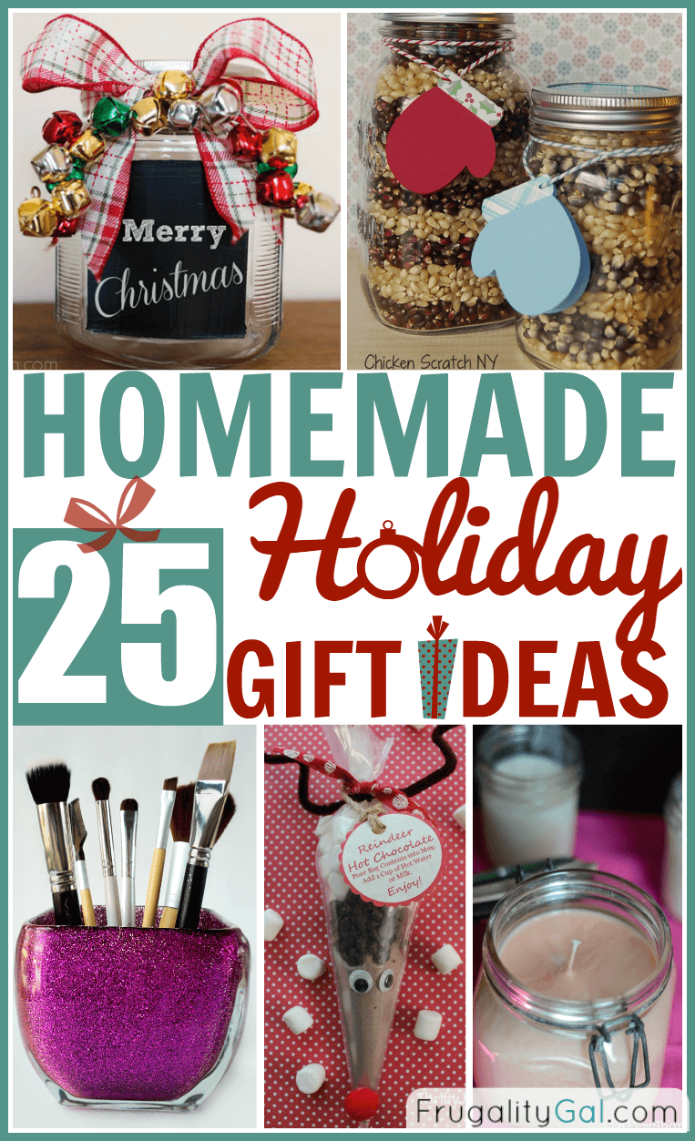 Easy Crafts To Give As Gifts On Christmas