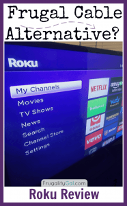 Frugal Cable Alternative: The good and the bad about the Roku.