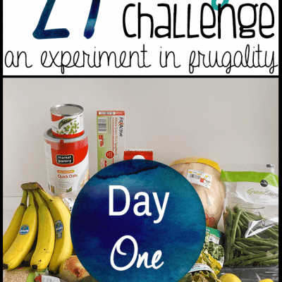 $27 Grocery Budget Challenge – How to Make a Week of Frugal Meals