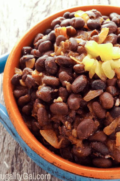 20 Minute Black Beans Recipe