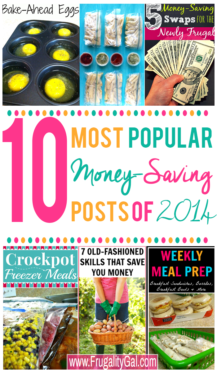 10 Most Popular Frugal Post of 2014