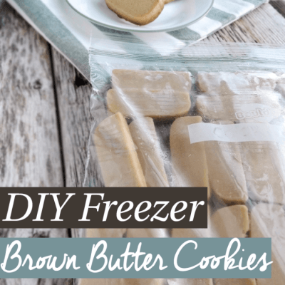 DIY Freezer Butter Cookies
