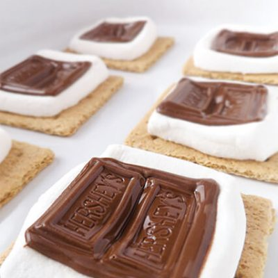 Mess-Free Microwave S'mores Bites