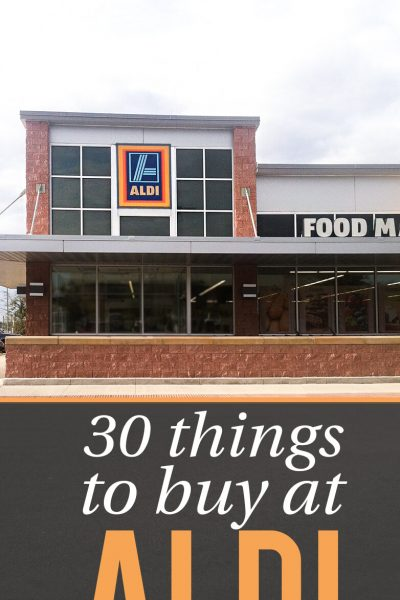 30 Things to Buy at Aldi