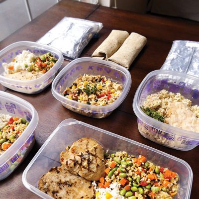 A Week of No-Cook Freezer Lunches