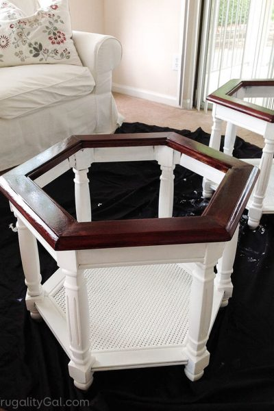 DIY Thrift Store Table Makeover