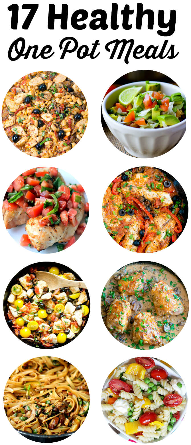 17 Healthy One Pot Meals