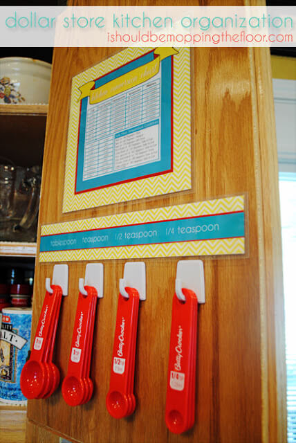 Measuring Spoon Organizer by I Should Be Mopping the Floor
