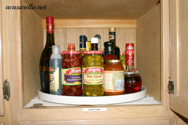 Lazy Susan Organization by A Casarella