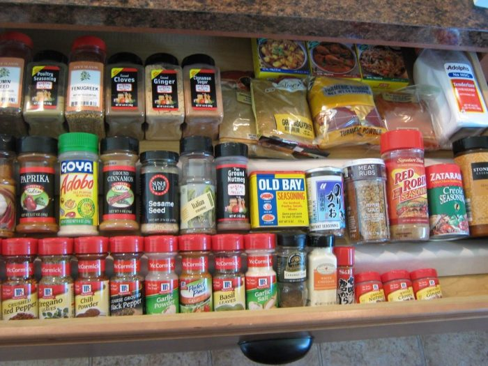 In-Drawer Spice Rack by Fake-It-Frugal