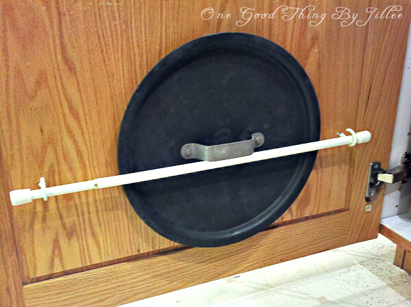 Pan Lid Organization by One Good Thing by Jillee