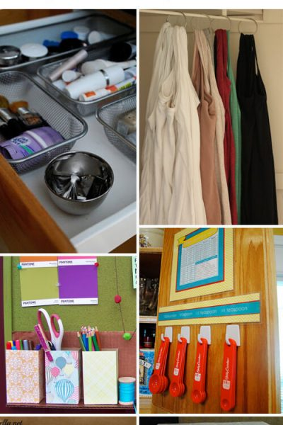 18 DIY Organizing Ideas for the Home