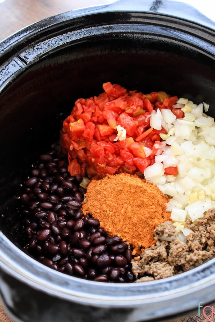 Easy Slow Cooker Mexican Dip Recipe - Perfect for a crowd!