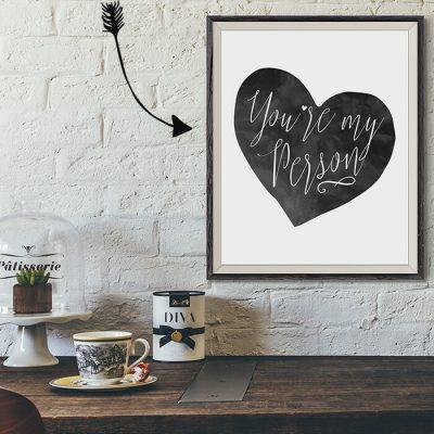 Free Valentine's Day Art Print
