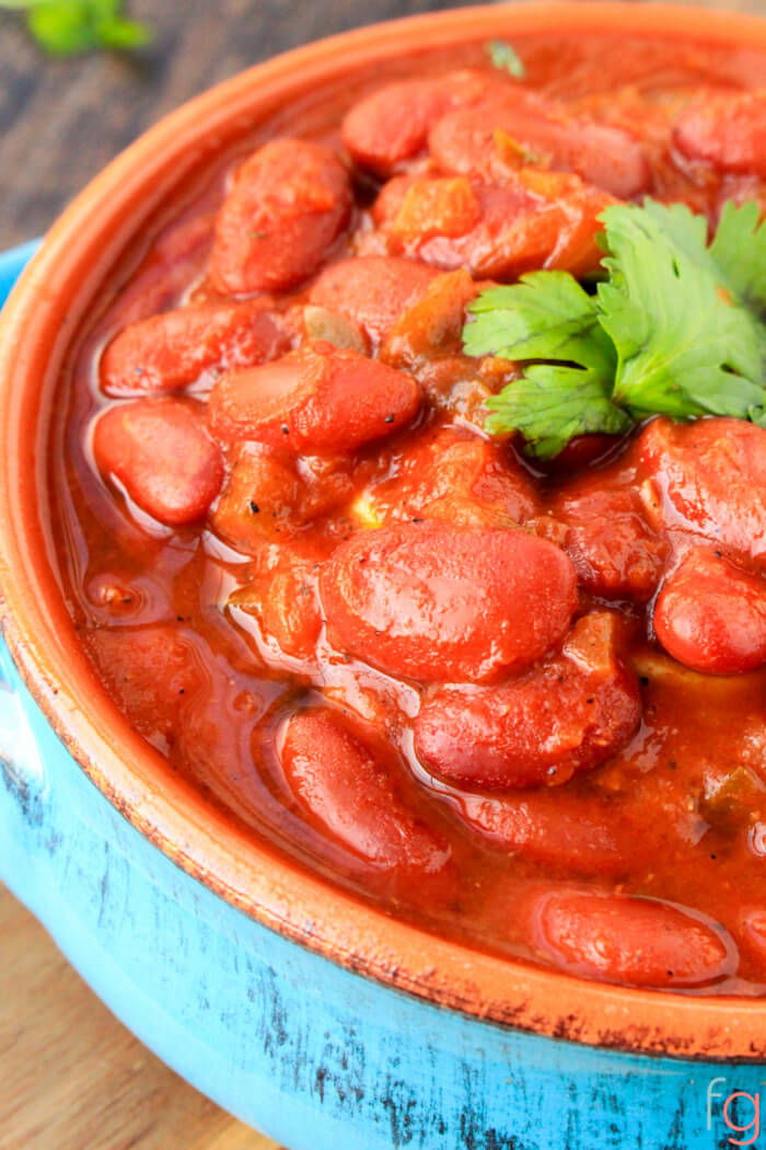 Puerto Rican Style Beans - Frugality Gal