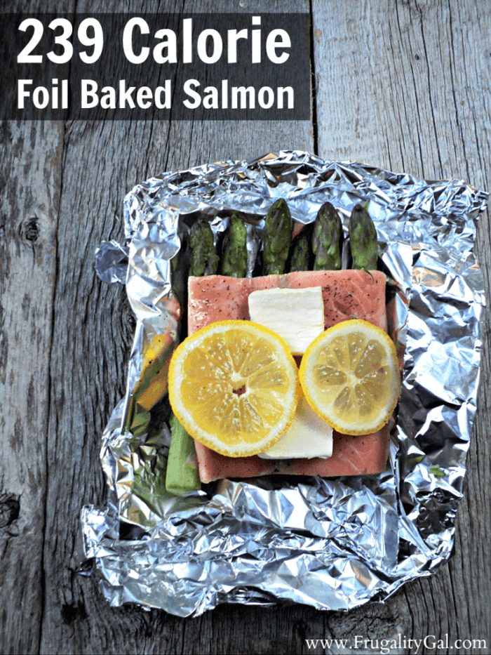 Frugality Gal - Foil Baked Salmon