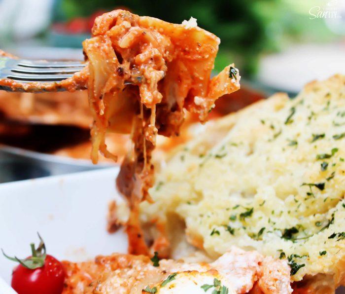 A Dash of Sanity - Skillet Lasagna