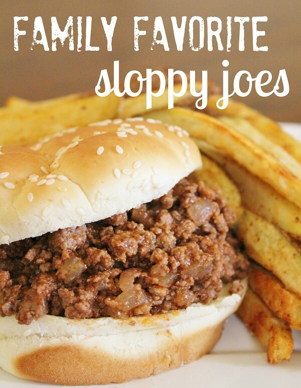 High Heels and Grills - Easy Sloppy Joes