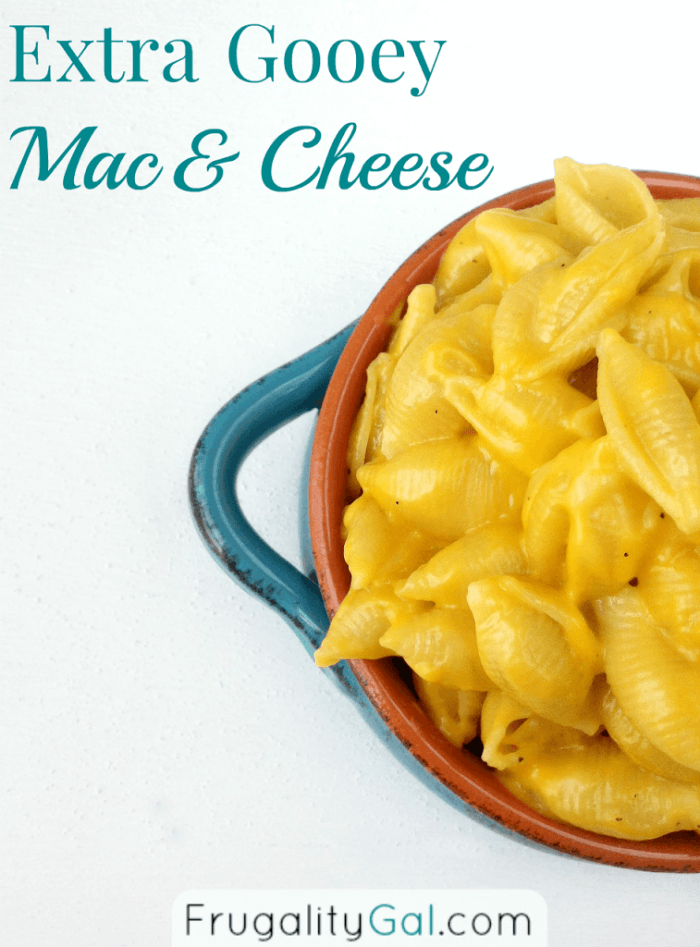 Frugality Gal - Mac and Cheese