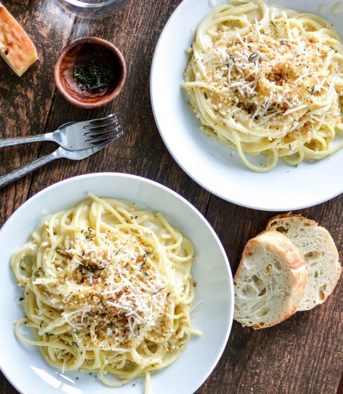 Cooking and Beer - Pecorino Pasta