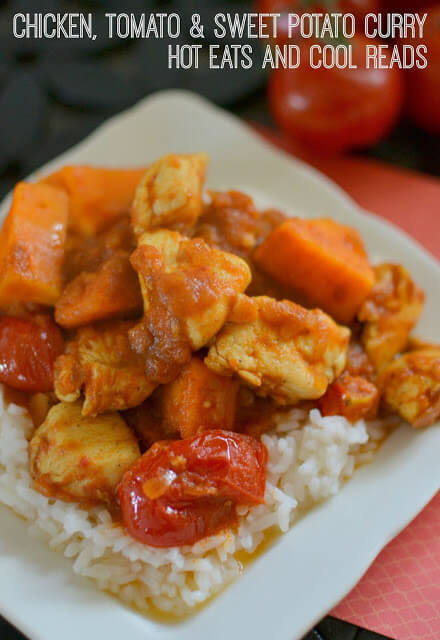 Chicken, Tomato and Sweet Potato Curry by Hot Eats and Cool Reads