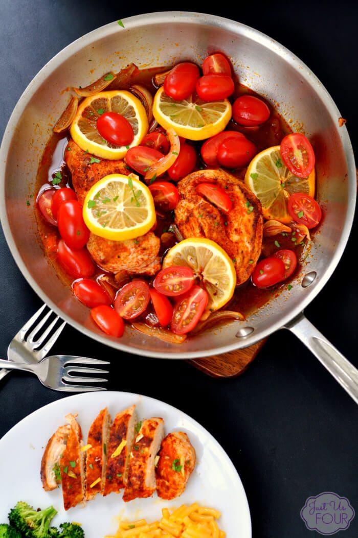 Lemon Paprika Chicken by My Suburban Kitchen