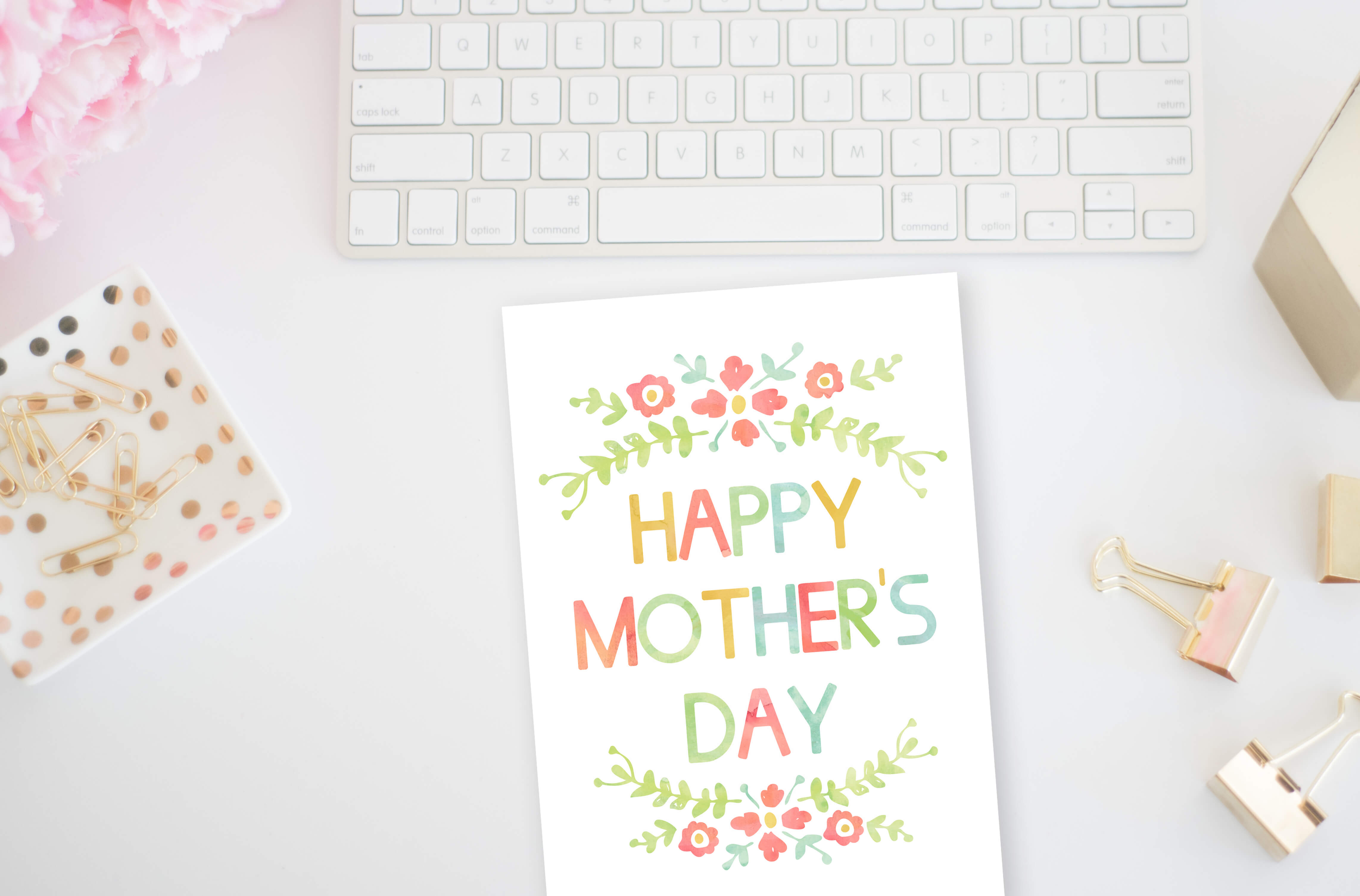 Free Printable Mother's Day Card - Savor + Savvy