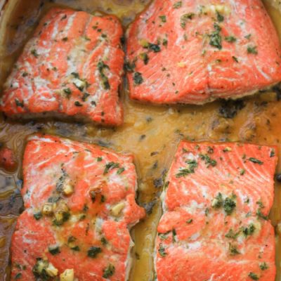 Honey Dijon Baked Salmon Recipe