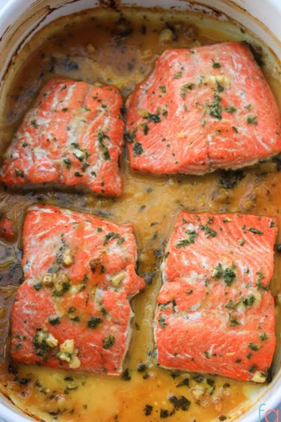 Honey Dijon Baked Salmon Recipe