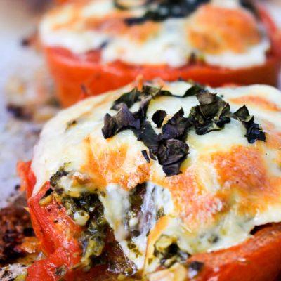 Roasted Tomato Melts